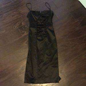 Nicole Miller black bodycon dress